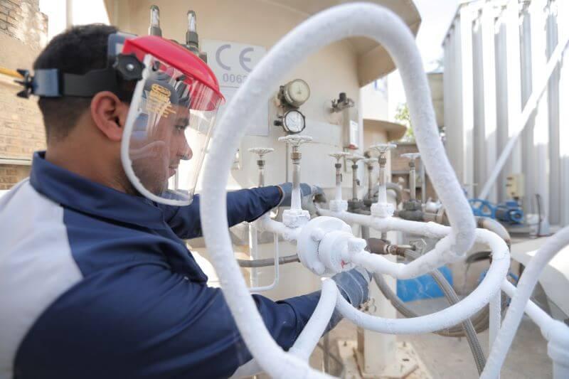 کاربرد گازها در خودروسازی و پیمانکاری