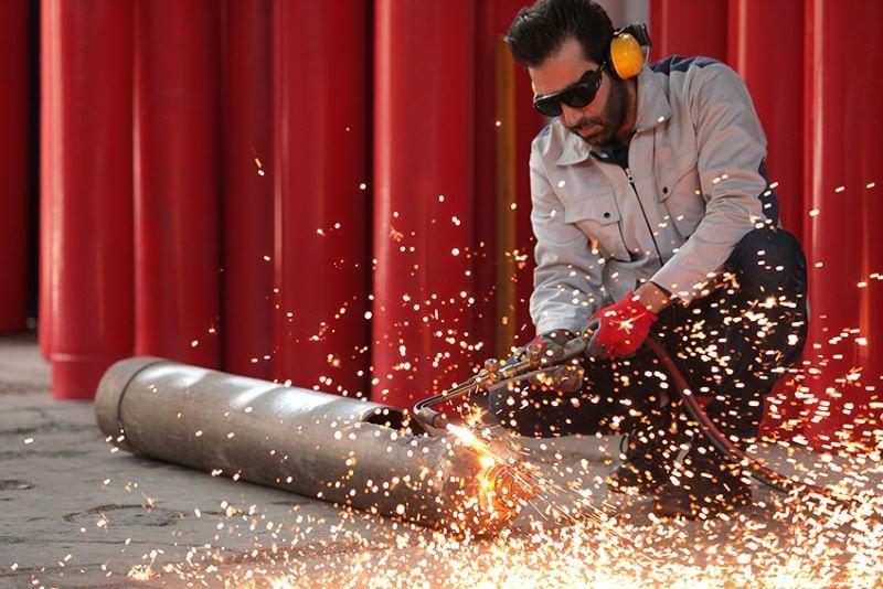 کاربرد گازها در صنعت جوشکاری و ساخت فلز